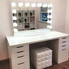 small makeup desk vanity desk with mirror makeup vanity table and bench lighted vanity makeup desk