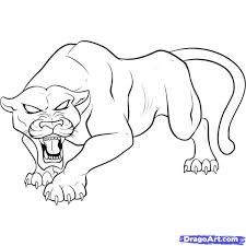 Small Picture Inspirational Panther Coloring Pages 82 In Coloring Print with