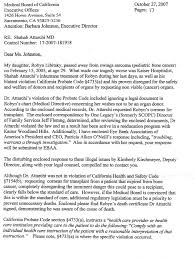 letter expressing concern hillarie levy wrote to the california medical board expressing her