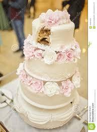 A Wedding Cake Stock Image Image Of Bakery Cream Decorative