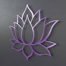 purple lotus flower metal wall art home on metal lotus flower wall art with purple lotus flower metal wall art home yasaman ramezani