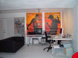 basement home office. modern and minimalist basement home office interior design