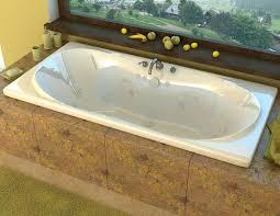 spa world vz4272wwl venzi bello 42 x 72 rectangular whirlpool jetted bathtub with center drain
