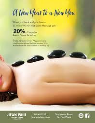 Hot Stone Massage Promo Jean Paul SpaJean Paul Spa