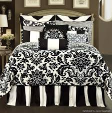 white and black comforter sets queen toile bedding full things for emma 5