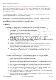 Company Contract Template NonExclusive Licensing Contract Template 16