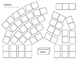 Blank Classroom Seating Chart Orchestra String Classroom Seating Chart