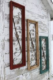 wood gate wall decor vintage wooden rectangle wall decor hanging wood frames in 3 sizes