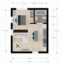 Very Small Apartment Design Stunning 48ftx48ft Cabin Or Studio Apartment Layout Compact Living Spaces