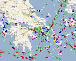 """""""Χάρτης πλοίων σε πραγματικό χρόνο"""""""