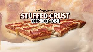 Little Caesars New Stuffed Crust Deep Dish Pizza Is A Cheese