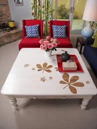 painted coffee table ideas17 cool and lovely DIY coffee table ideas you can create easily