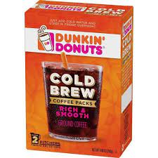 2,000 calories a day is used for general nutrition advice, but calorie needs vary. Dunkin Donuts Cold Brew Medium Roast Coffee 2ct Target