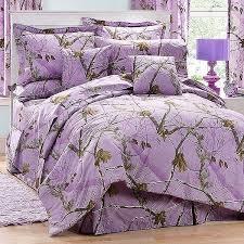 ap lavender camouflage comforter set