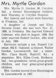 Myrtle Dove obit - Newspapers.com