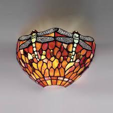 strange tiffany wall lamp art deco light 115 80 from complighting lighting  on tiffany wall lights art deco style with great tiffany wall lamp interiors 1900 flame dragonfly light