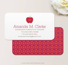 56 Teachers Business Cards Ai Ms Word Publisher Free