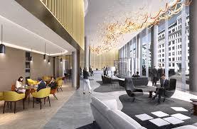 london office design. 33-central-london-office-design-reception-double-height-building-interiors London Office Design