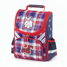 Ранец для учениц начальной школы <b>ПИФАГОР</b>, Скотч-терьер ...