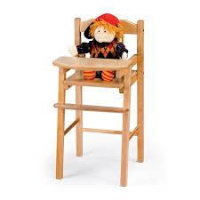 jonti craft traditional doll high chair 0503jc