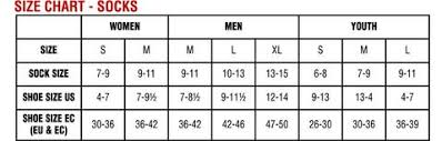 Youth Sock Size Chart Nike Youth Page 2 Of 2 Charts 2019