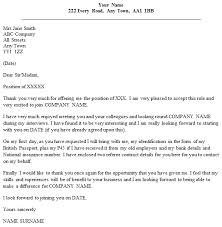 Job Offer Thank You Letter Job Offer Thank You Letter Example Icover Org Uk