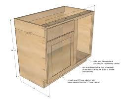Ana White Build A 42 Base Blind Corner Cabinet Momplex Vanilla