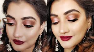 indian wedding guest makeup tutorial easy party makeup look for beginners beauty beauty