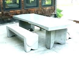 garden tables and benches concrete decorative bench portland