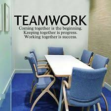 office wall decal. Item 7 N.SunForest Quotes Wall Decal Teamwork Definition Office Art Murals NEW!! -N.SunForest