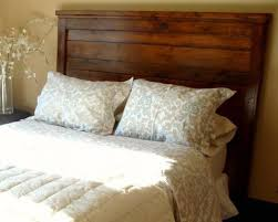 King size wood headboard Bedroom Ana White Ana White Reclaimedwood Look Headboard King Size Diy Projects