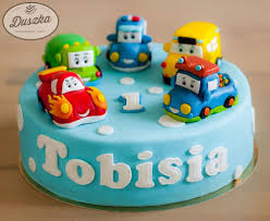1 Year Old Boy Cake Design