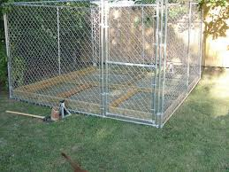 homemade dog kennels 2. Photo 5 Of 9 Winsome Outdoor Dog Kennel Flooring Ideas In Addition To Homemade Kennels Best 2 E