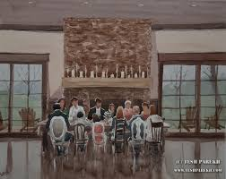 live event painting at the arbors in charlotte nc for inspire weddings marriage