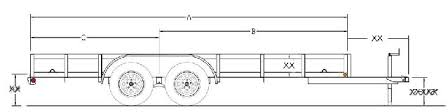 1 trailer plans 7x14 low deck tandem utility trailer plans step by step instructions for an 7 x 14 tandem axle utility trailer including the wiring diagram and instructions for the lights