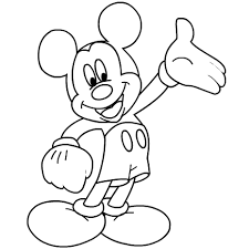 Small Picture Mickey Mouse Coloring Pages For Free Coloring Pages