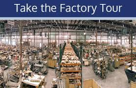 take england furniture factory tour