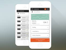 Mobile Dashboard And List View By Derek Payne On Dribbble