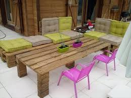 outdoor furniture from pallets. 4 patio furniture decor outdoor from pallets