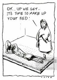 Beds Of Nails Cartoons and Comics funny pictures from CartoonStock
