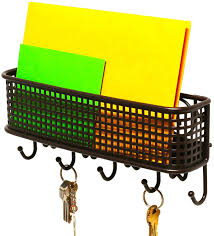 Home Household DecoBros Wall Mount Mail Letter and Key Rack Holder Organizer.  81jqAl8vvwL._SL1500_