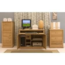 picture mobel oak large hidden office. Mobel Oak Hidden Home Office Picture Large