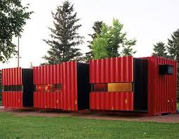 cargo container office. Lot-ek Mdu Container House Cargo Office