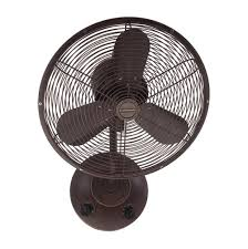 elegant bronze metal fan blades wall mounted fans without oscillating