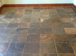 tile floor. Tile Chinese Slate Before Cleaning In Norton Near Daventry And Floor E .