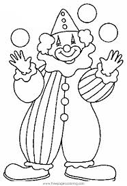 Small Picture Clown Coloring Pages Circus clowns coloring pages Quad Ocean