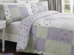 Dreams 'N' Drapes Patchwork Duvet Cover Set, Lilac, Double: Amazon ... & Dreams 'N' Drapes Patchwork Duvet Cover Set, Lilac, Double: Amazon.co.uk:  Kitchen & Home Adamdwight.com