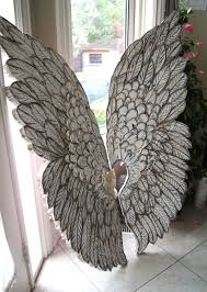 astonishing angel wings wall decor artistic spiritual girl of large styles and patch trends large angel