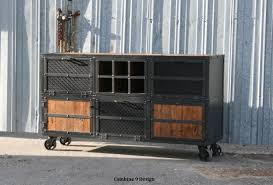 Voguish Vintage Industrial Plus A Custom Made Liquor Cabinet Vintage  Industrial in Industrial Media Console