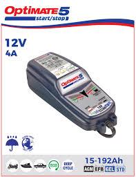 Зарядное <b>устройство OptiMate 5</b> 4А <b>Start</b>-<b>Stop</b> (1x4A, 12V), TM220